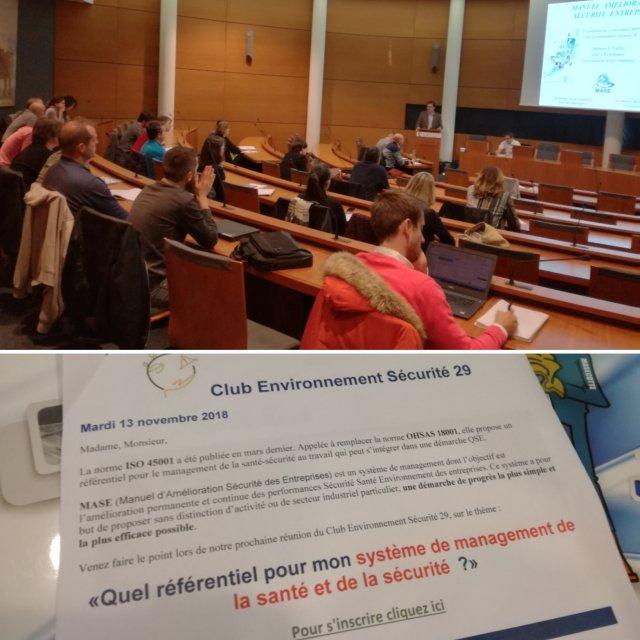 Photo intervention CCI de Brest