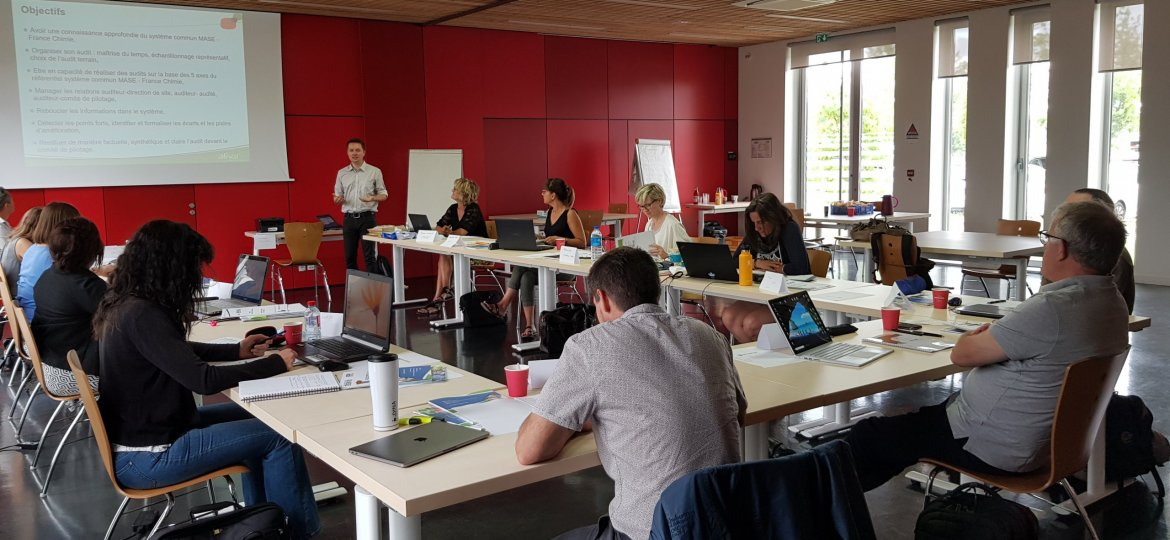 Phto groupe session formation auditeur juillet 2020
