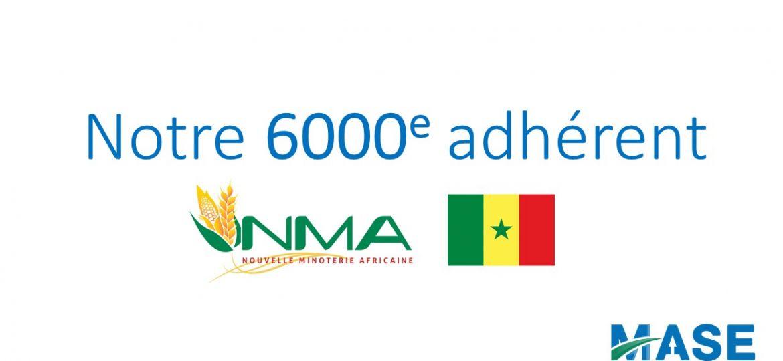 6000e adhérent pour MASE